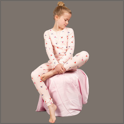 Ballerina Baby Long Johns by maus house