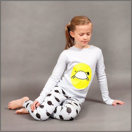 Count to Sheep Placement Long Johns by maus house