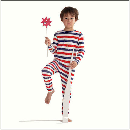 Patriot Act Stripe Long Johns by maus house