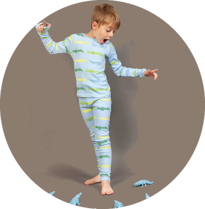 Snap Snap Yardage Long Johns by maus house