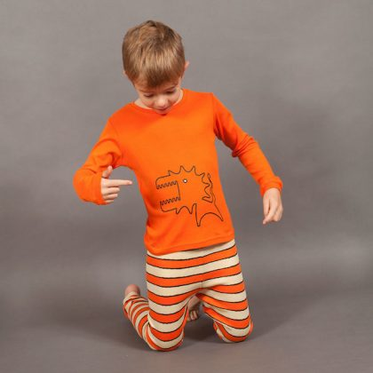 Grrrreat Monster Long Johns by maus house