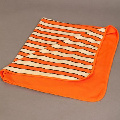 Grrreat Stripe baby blanket by maus house