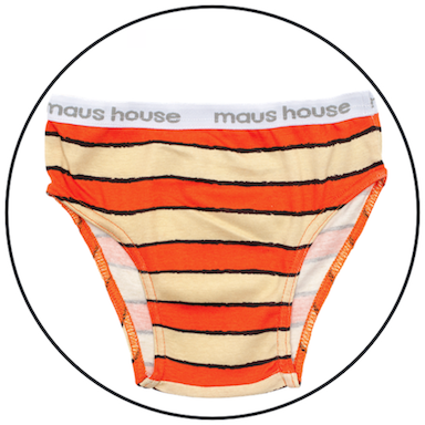 Grrreat Stripe Undies by maus house