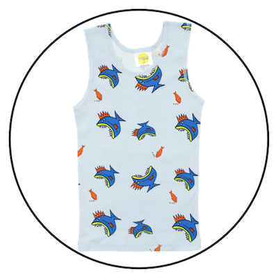 Something Fishy Singlet by maus house