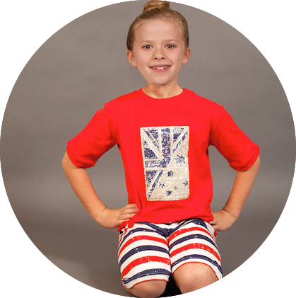 Patriot Act Placement with Stripes Shorties by maus house