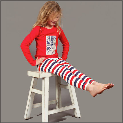 Patriot Act Placement with Stripes Long Johns by maus house