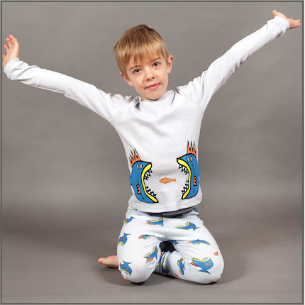 Something Fishy Placement Long Johns by maus house