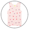 Ballerina Baby Girls Singlet by maus house