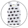 Count to Sheep Girls Singlet by maus house