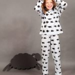 Count to Sheep Yardage Long Johns by maus house
