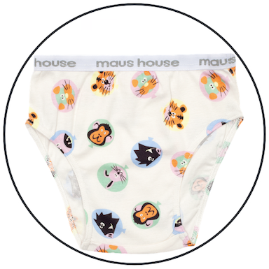 Fly Away Undies by maus house