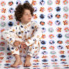 Fly Away Yardage Onesie by maus house