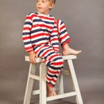 Patriot Act Stripe Loose Johns by maus house