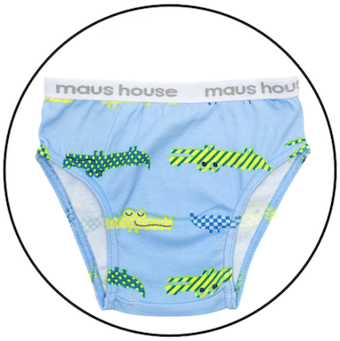 Snap Snap Undies by maus house