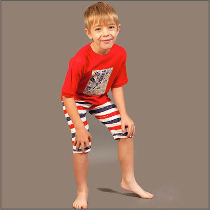 Patriot Act Placement and Stripes Shorties by maus house