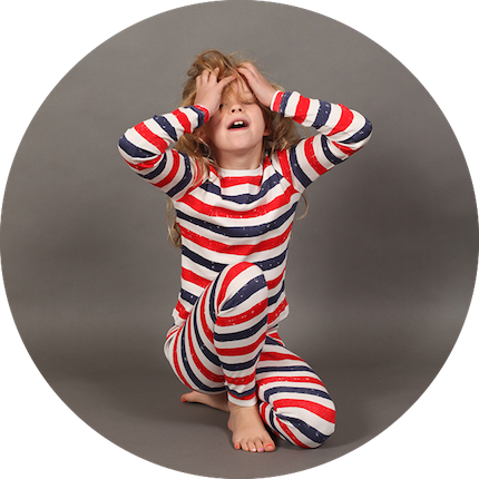 Patriot Act Stripe Onesie by maus house